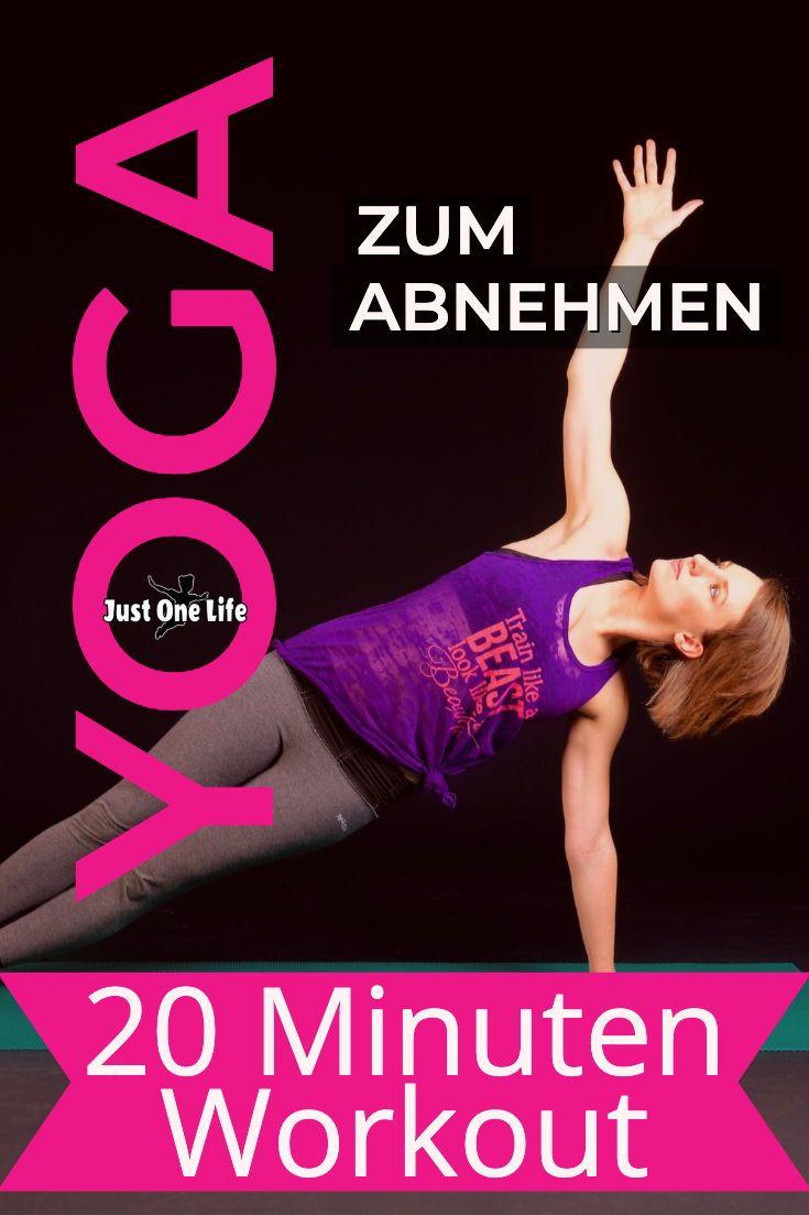 Yoga zum Abnehmen - 20 Minuten Workout
