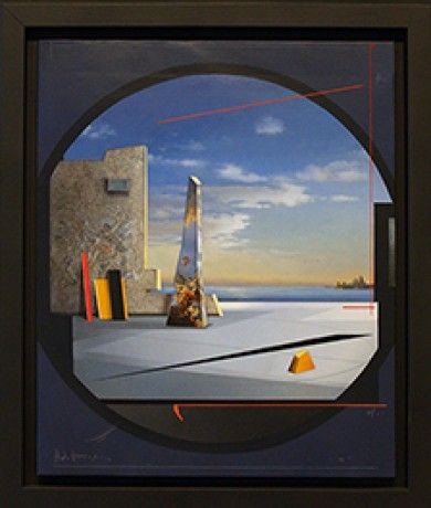 ANdrea vizzini  - Ravagnan Gallery Venezia - Painting - Art for office - Impossible Venice