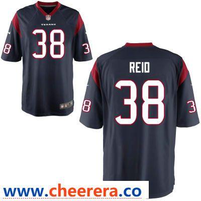 83111d76 Men's Houston Texans #38 Justin Reid Navy Blue Team Color Stitched ...