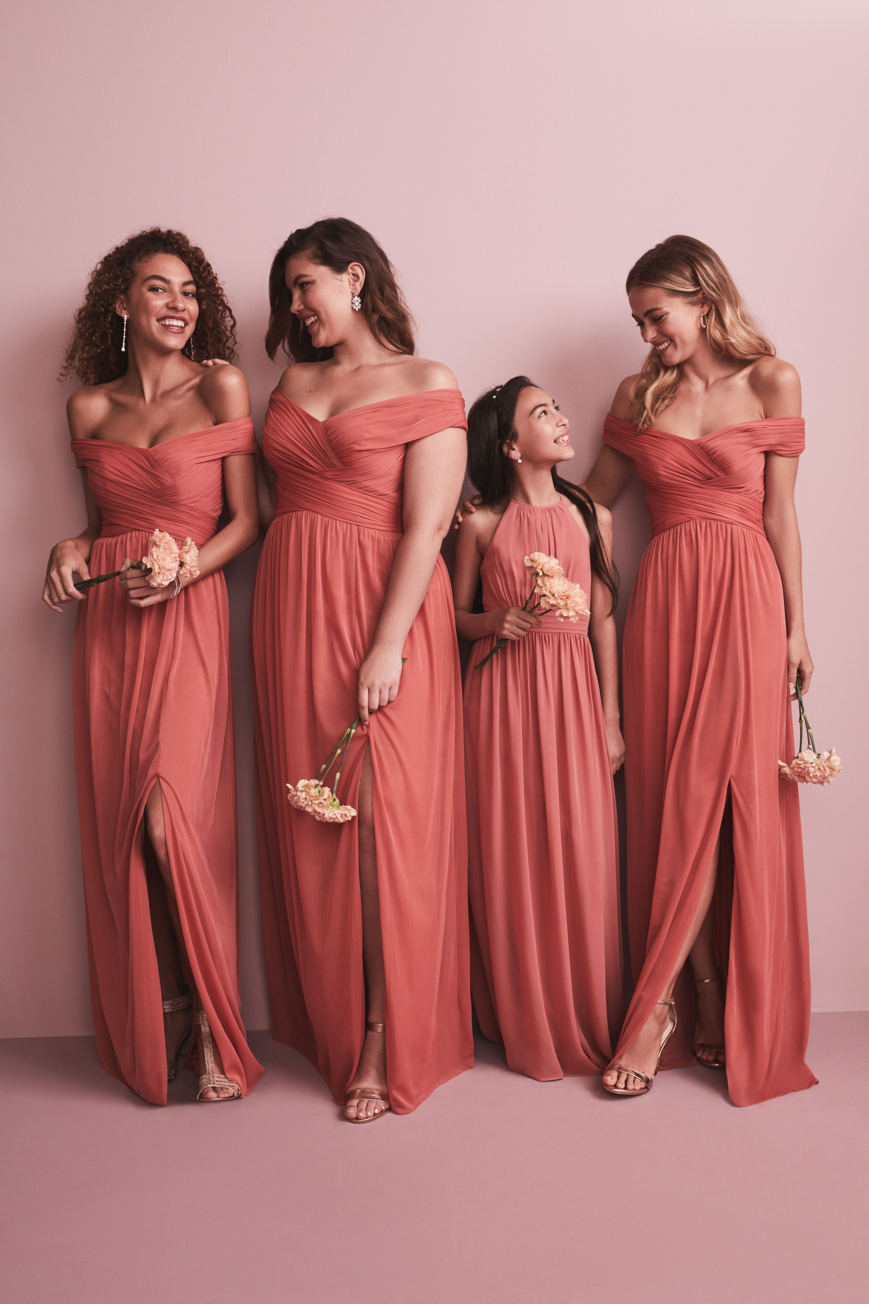 New Coral Bridesmaid Dresses From David S Bridal Coral Bridesmaid Dresses Davids Bridal Bridesmaid Dresses Davids Bridal Bridesmaid Dresses Long