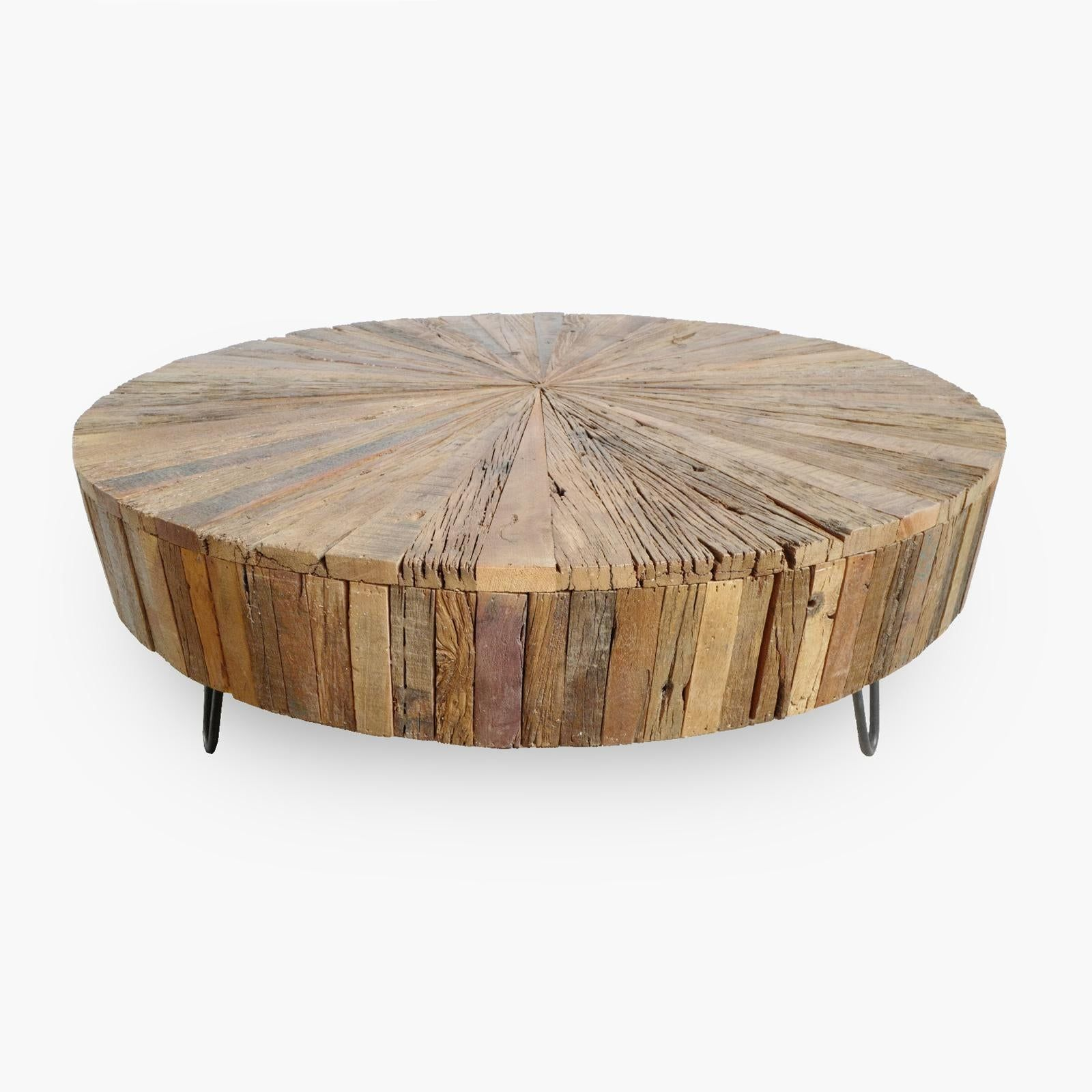 Reclaimed Round Coffee Table Chairish Reclaimed Coffee Table Wood Coffee Table Living Room Coffee Table [ 1600 x 1600 Pixel ]