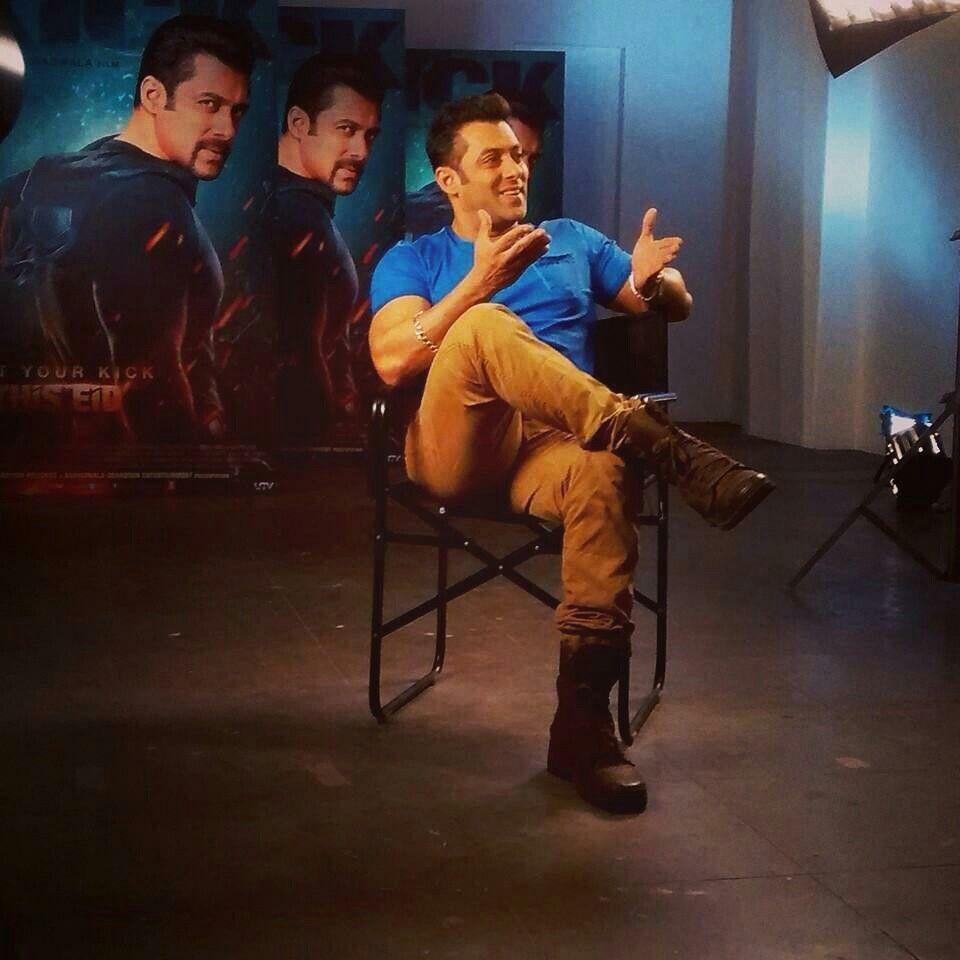 Salman Khan-Bhai Kick interview | Salman khan, Khan, Concert