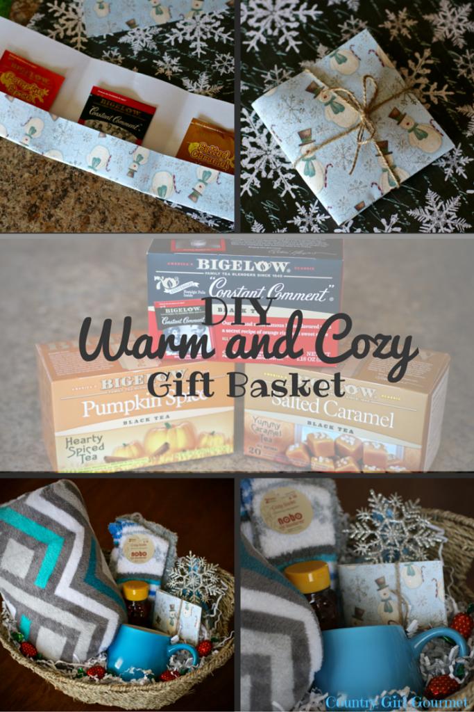 DIY Warm and Cozy Gift Basket   Girl gift baskets, Gift ...