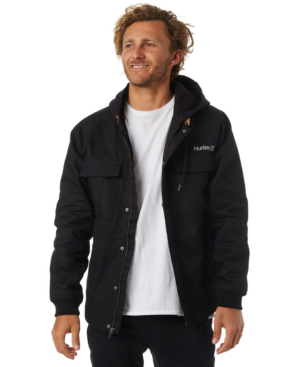 8bd2701f4008 Hurley Surge Jacket Black Mens Jackets Other Size S | fashion styles ...