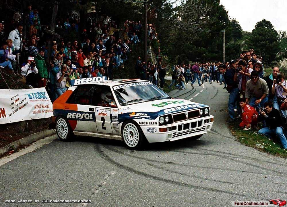 Lancia Delta Car Rally | Why The Lancia Integrale Is A Proper 90s ...