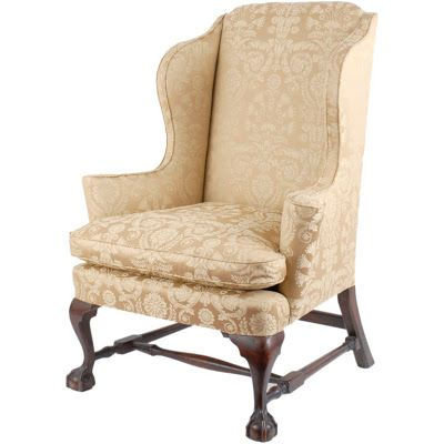 antique chippendale wing chair a fine antique chippendale carved mahogany wing back easy chair probably boston circa