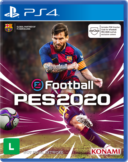Pes 2020 Pro Evolution Soccer Efootball Ps4 Mobile Game Ps4 Games Pro Evolution Soccer