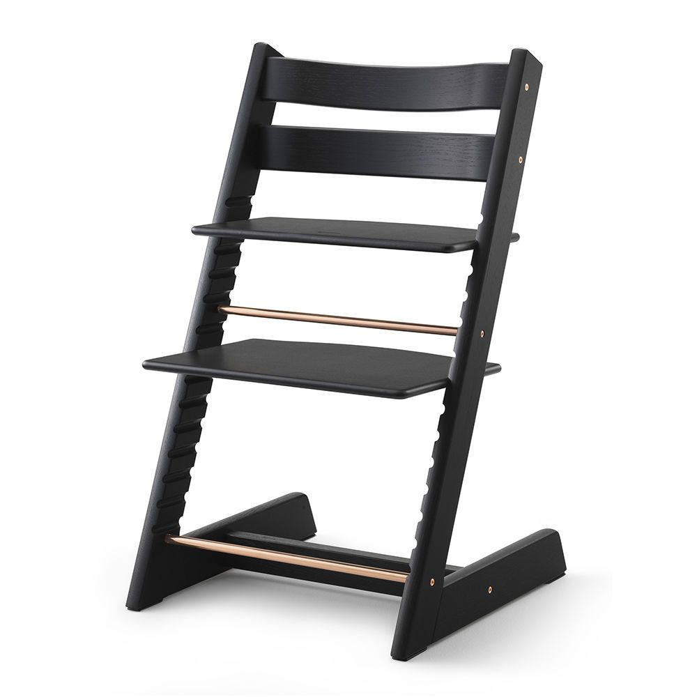 stokke llc tripp trapp chair limited edition oak black twin wish list pinterest. Black Bedroom Furniture Sets. Home Design Ideas