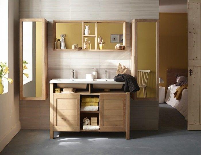 salle de bain zen jouez la carte du meuble en bois
