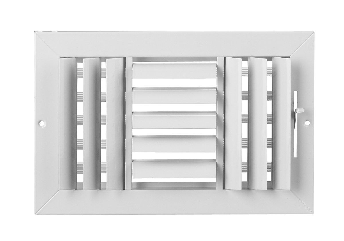 10 X 6 3 Way Air Vent Adjustable Aluminum Curved Blades Maximum Air Flow Hvac Grille You Can Get Additional Details At The I Locker Storage Air Vent Roof Vents