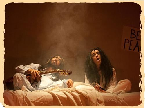 Las Reinas Chulas presentan: En la cama con John y Yoko