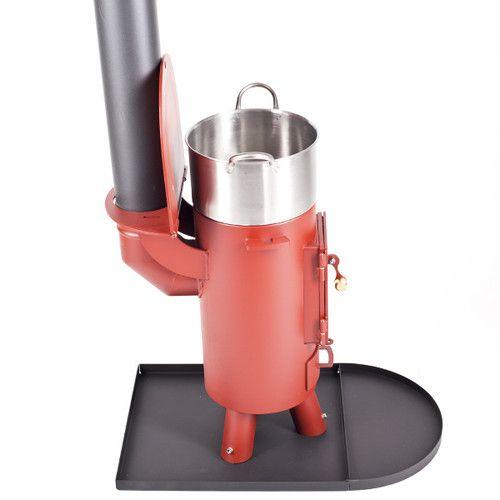 The traveller stove log burner mutli fuel portable wood for Portable rocket stove heater