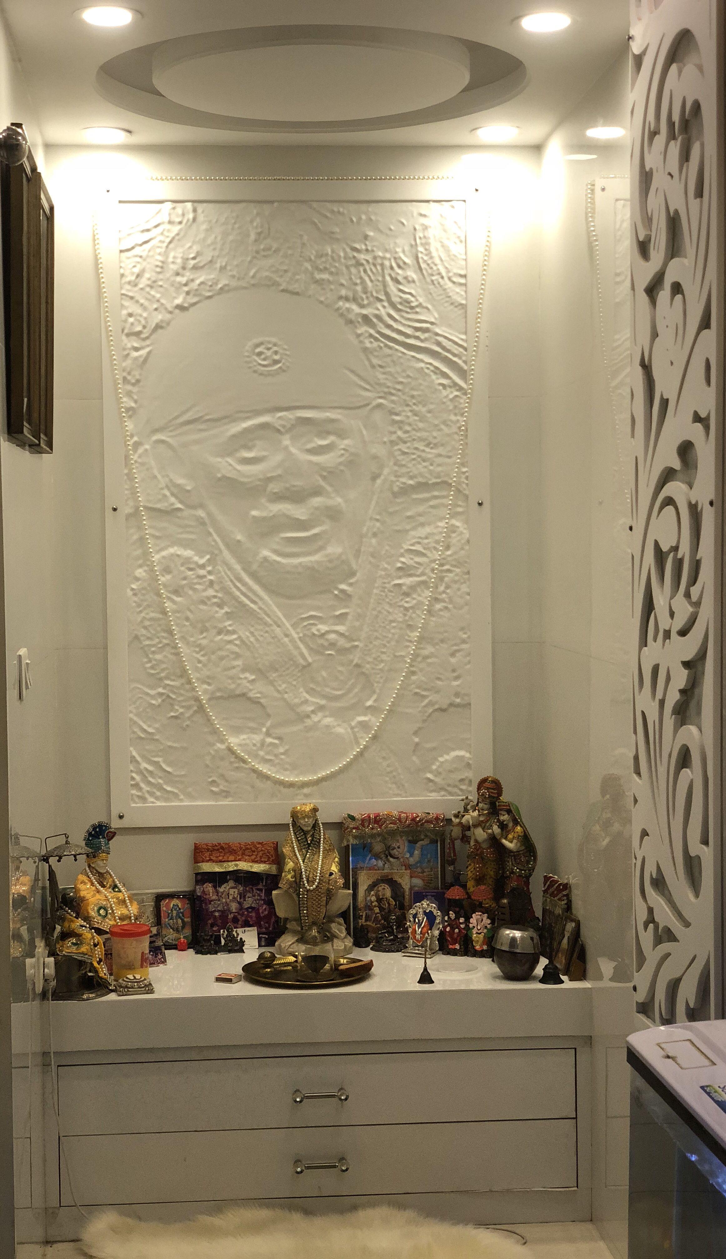 3d Interior Room Design: Pooja Room Door Design, Pooja Room Design
