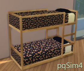 Ikea Toddler Bed by pqsim4 | Sims 4 cc meubles, Mobilier ...