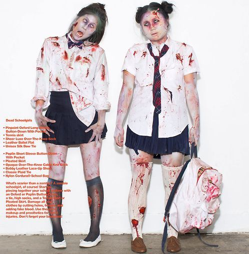 school girl zombie costume - Google Search | All Things Halloween ...