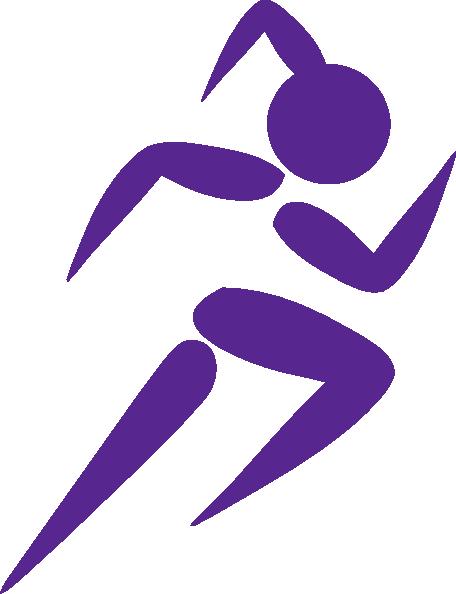 free clip art running woman girl running purple clip art girl rh pinterest com free clipart running shoes free running clipart
