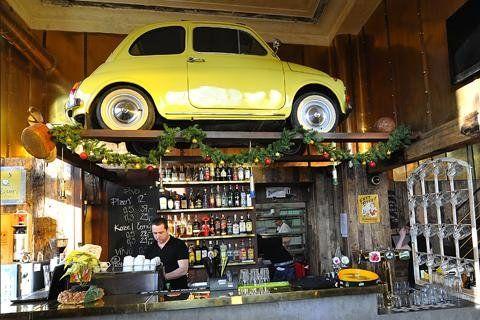 500 Restaurant - Prague, Czech Republic  Amazing 'iced tea' as they called it…