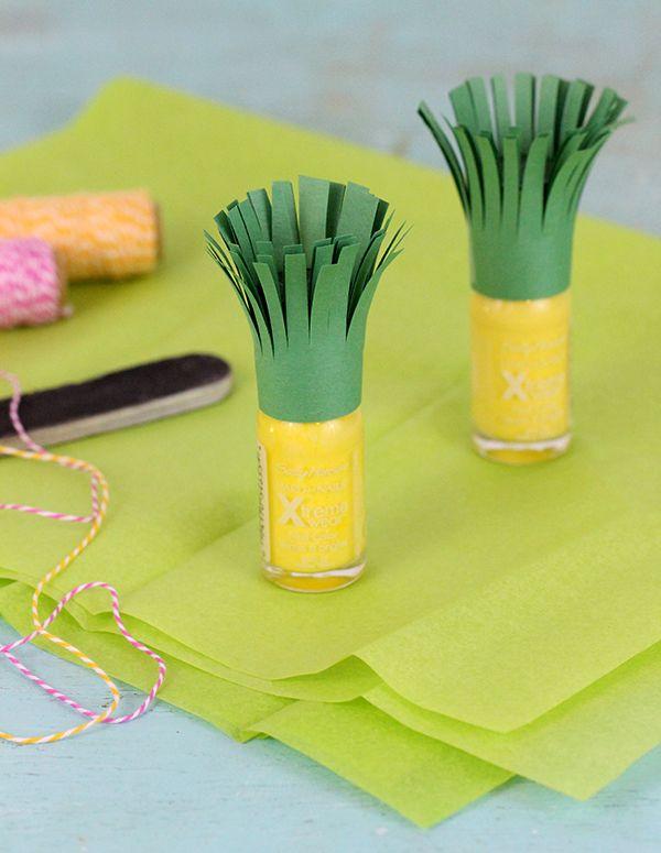 Simple Gift: Pineapple Nail Polish