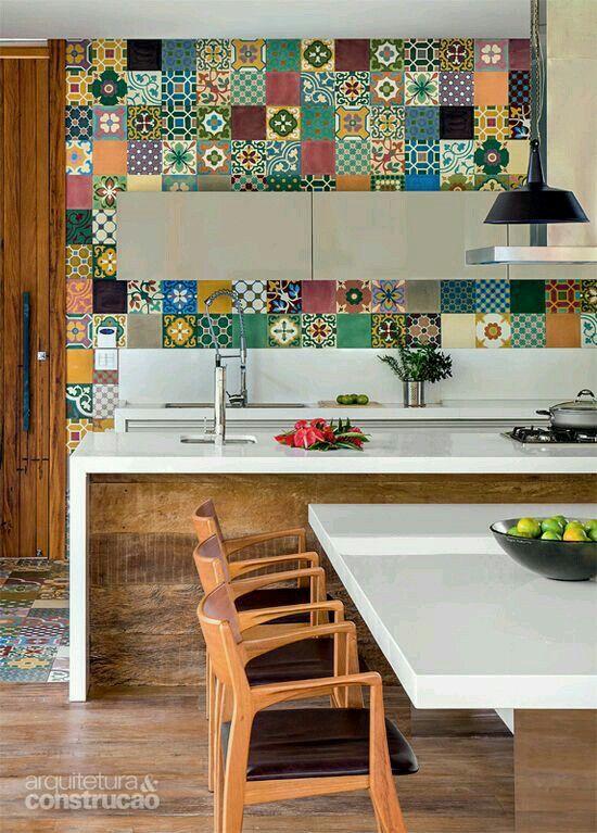 Pared patchwork ☆ cocinas Pinterest Patchwork