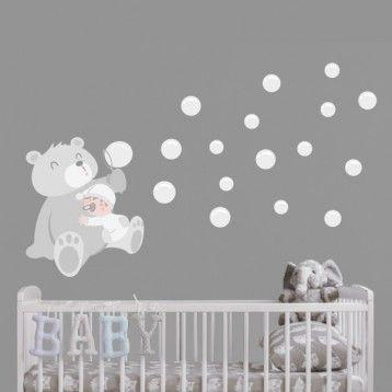 Vinilos infantiles starstick vinilos decorativos for Vinilos habitacion bebe nino