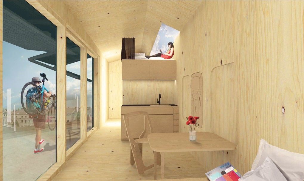 Green Living Berlin solar powered cabin spacey homes tap berlin s rooftops