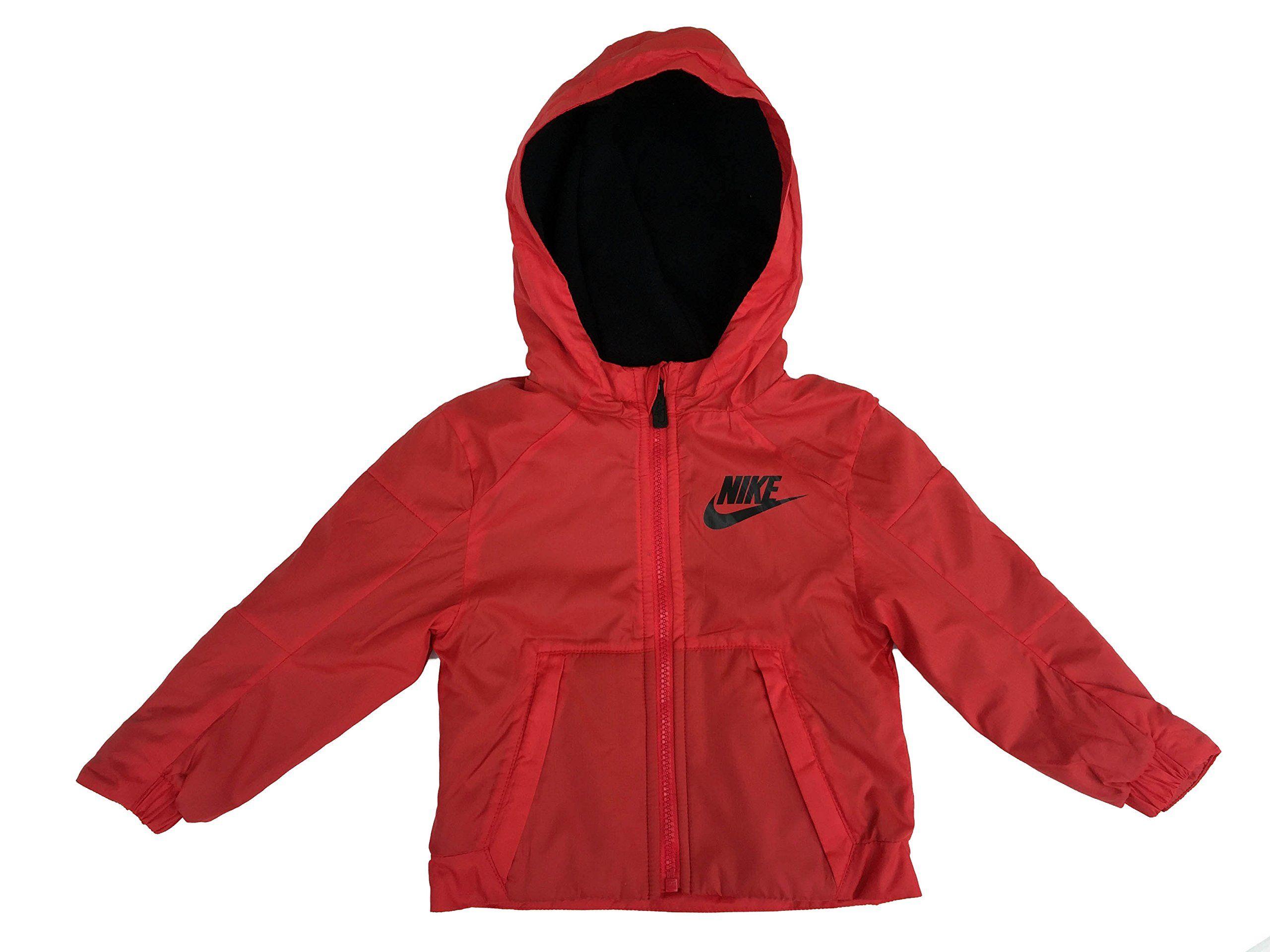 nike fleece lined jacket boys