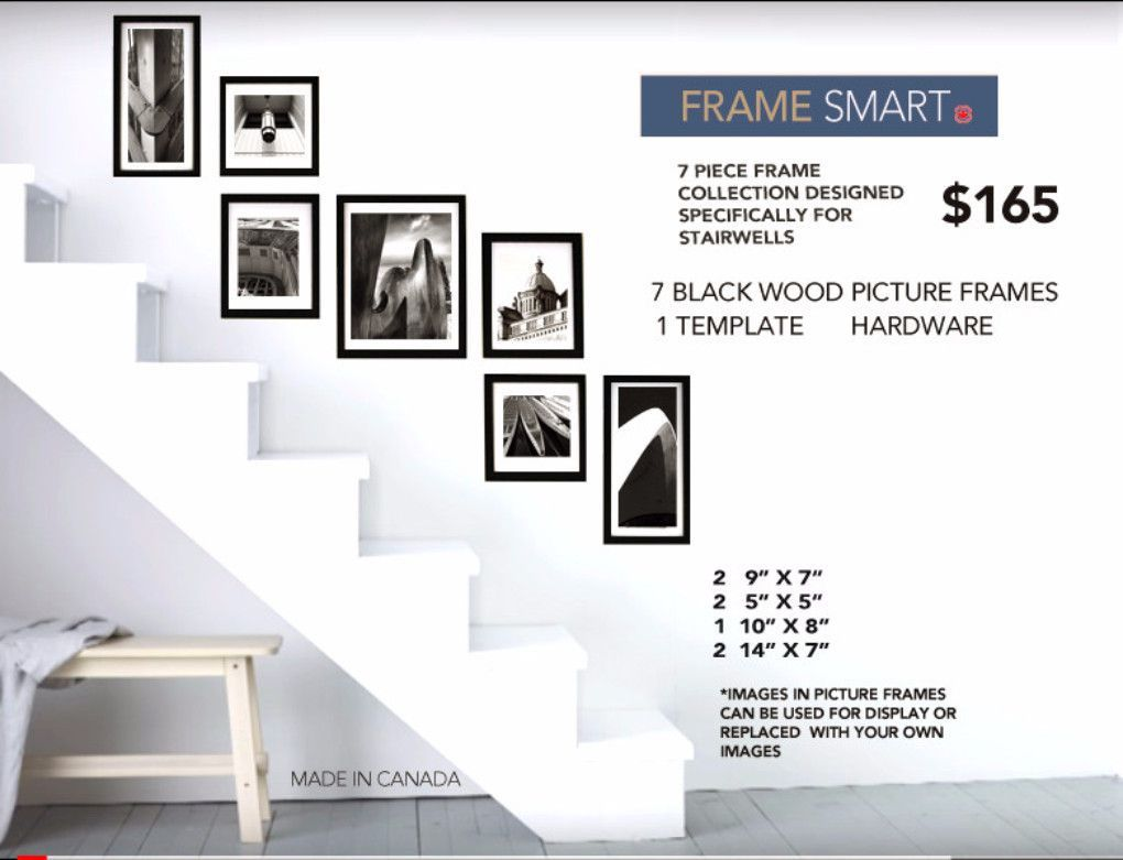 GALLERY BLACK PICTURE FRAME SET OF 7 | Products | Pinterest | Black ...