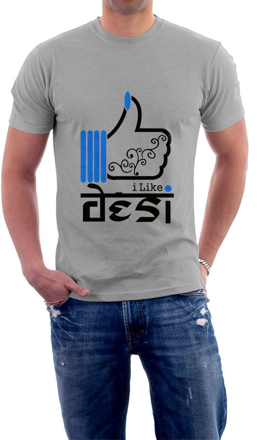 Even after westernization covering the society, somewhere deep in our heart I hope we all love desi stuff. We still love bhangra, gidda, bharatnatyam, delhi ki chaat, panipuri, dhokla, and many more desi stuff. Buy this now on www.apricott.biz!    *Free-Shipping and Cash-on-Delivery  *Pure Cotton and Bio-Wash  *Easy Returns