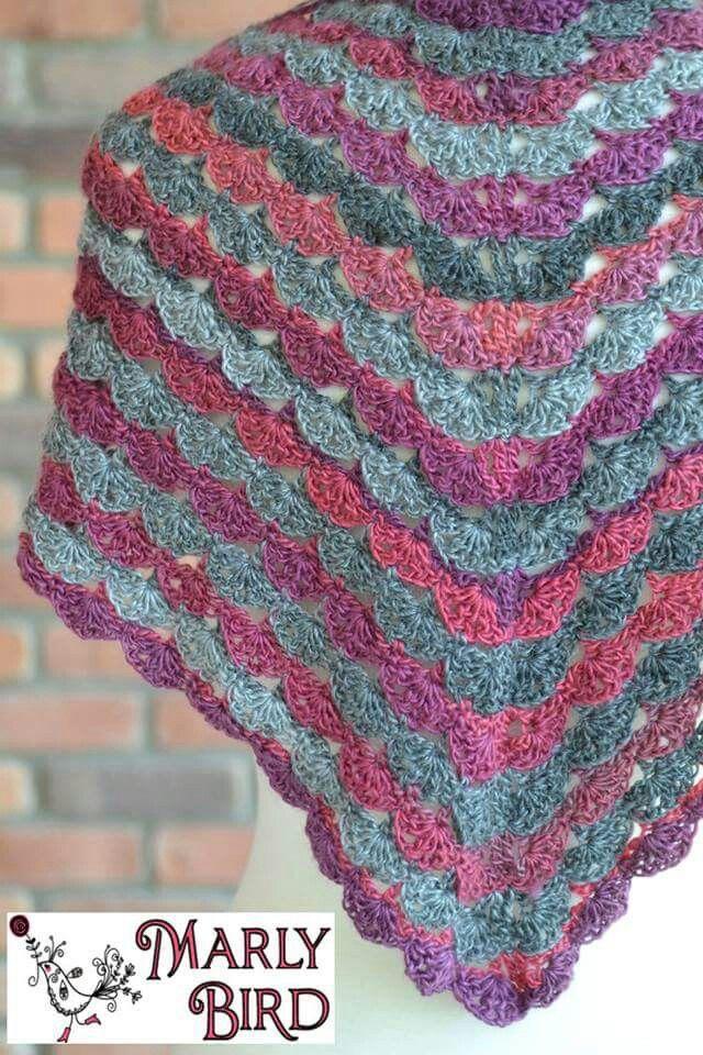 Pin By Marlene Van On Shawls Pinterest Crochet Shawl Crochet