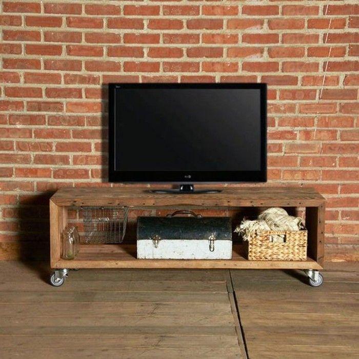 Fabriquer Un Meuble Tv Instructions Et Modeles Diy En 2020 Fabriquer Meuble Tv Mobilier De Salon Meuble Tv