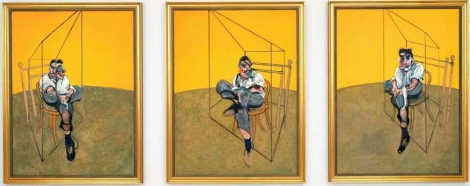Francis Bacon. Ttes estudios de Lucian Freud.1969..Tríptico.13 de Noviembre de 2013.142,4 millones de dólares