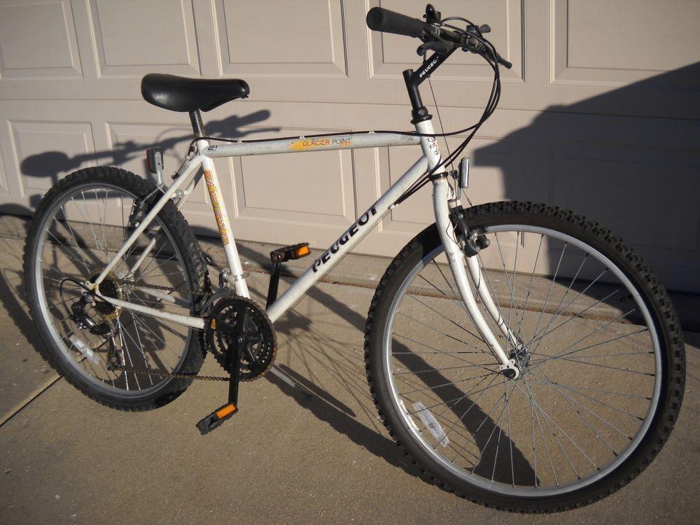 Latest Peugeot Bikefor Sales Peugeotbike Peugeot Bikepeugeot Glacier Point 21 Speed Mountain Bike White 225 00 End Date Mo Peugeot Bike Bike Peugeot