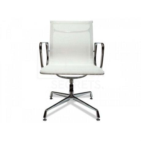 replica eames group standard aluminium chair cf. Visitor Mesh Office Chair Eames Replica White Group Standard Aluminium Cf