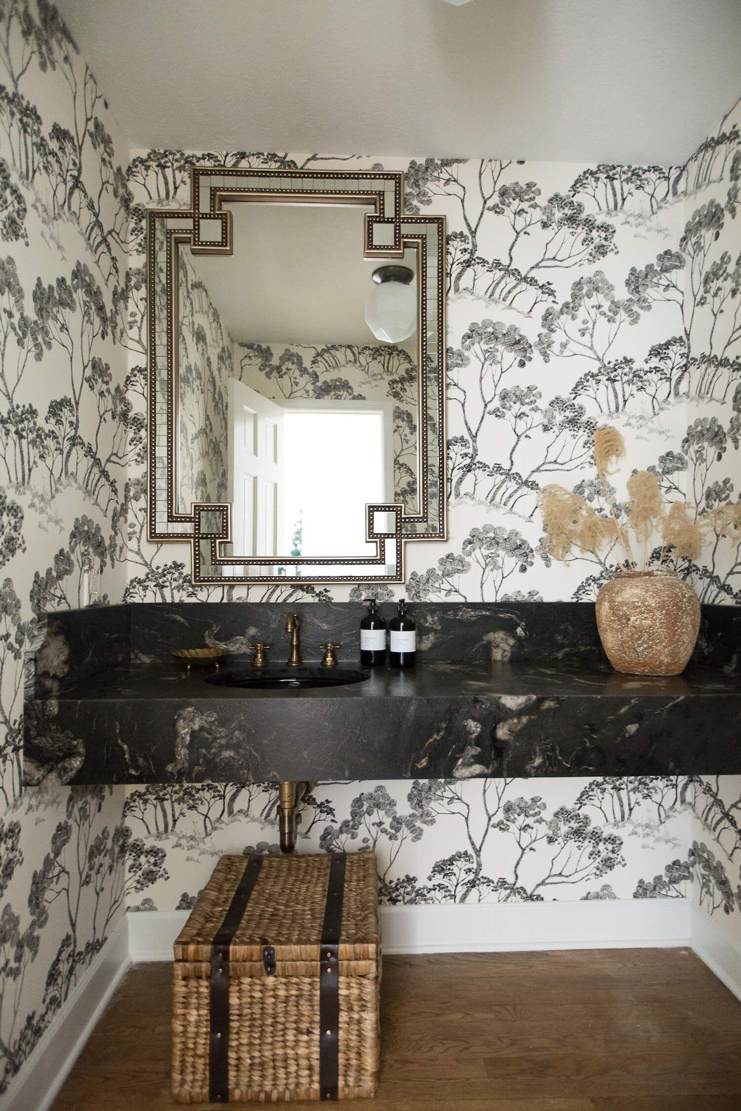 Powder Room Transformation with SCIpowder