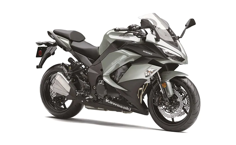 Kawasaki Ninja 1000 Now Available In A New Silver Colour