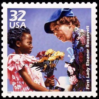 US Stamp - Celebrate the Century 1930s First lady Eleanore Roosevelt