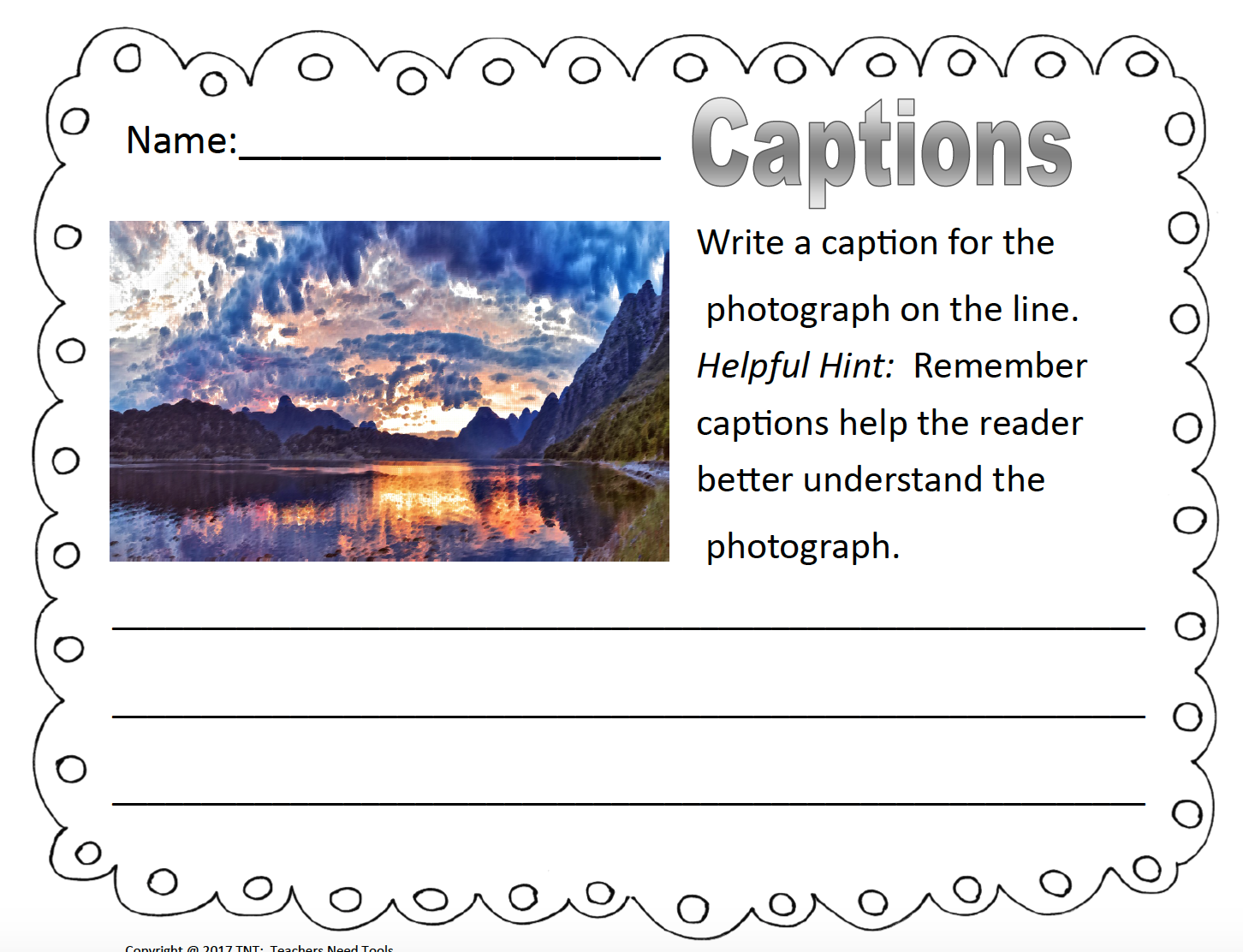 Text Features Labels And Captions