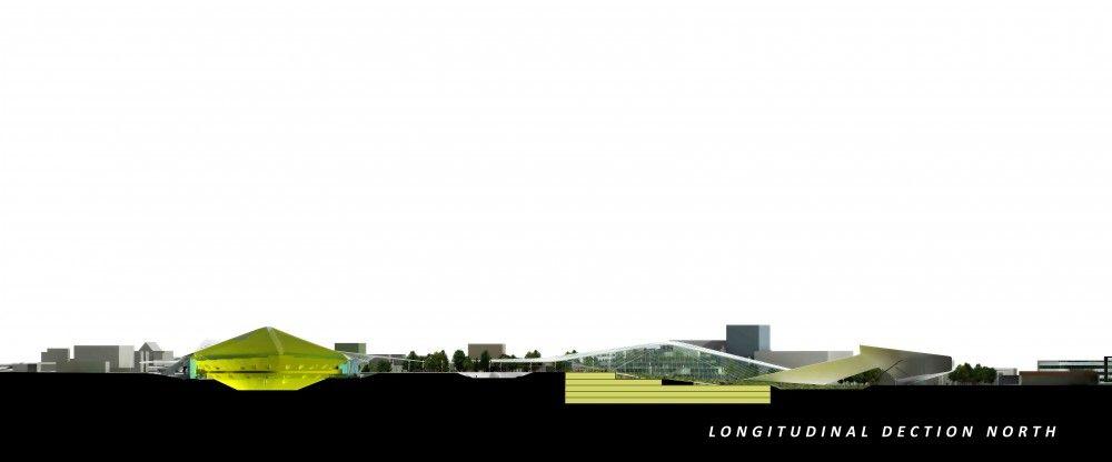 Seattle Center HUB (Hybrid Urban Bioscape) Competition Entry / Aétrangère