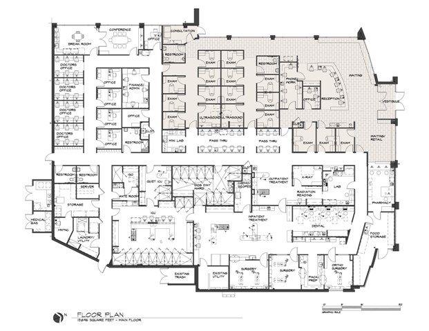 Animal Shelter Design Floor Plans