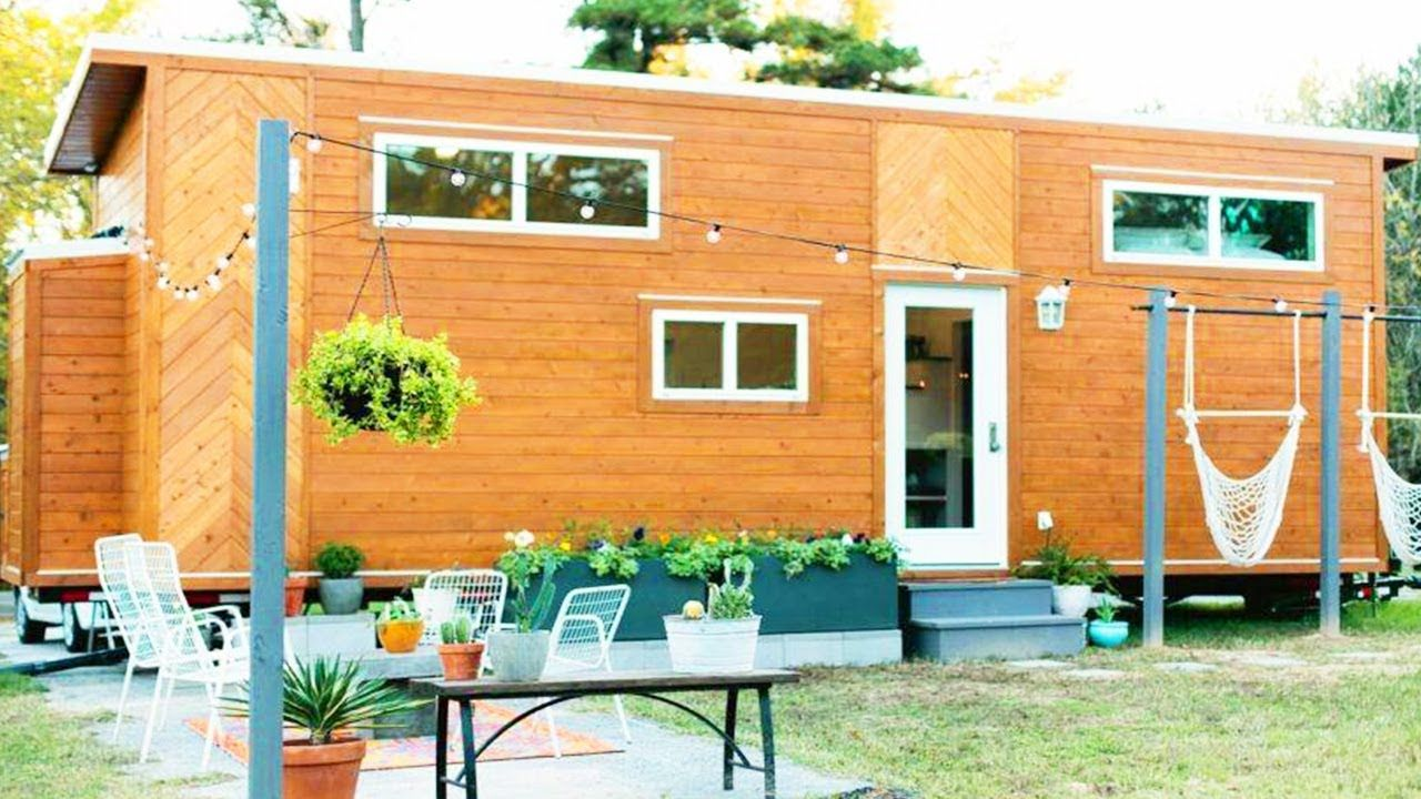 absolutely beautiful modern 28 tiny home on wheels is on beautiful tiny home ever id=21783