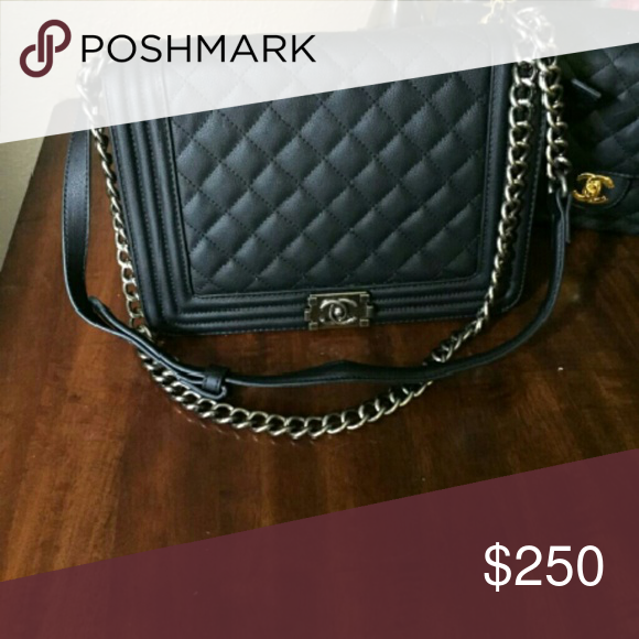 Boy bag Looks great leather and bigger one get it now cause it probably won't be here later CHANEL Bags