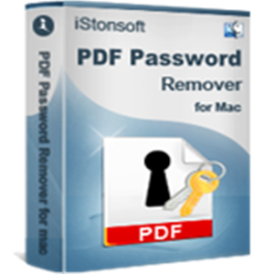 iStonsoft PDF Password Remover for Mac | Discount coupons