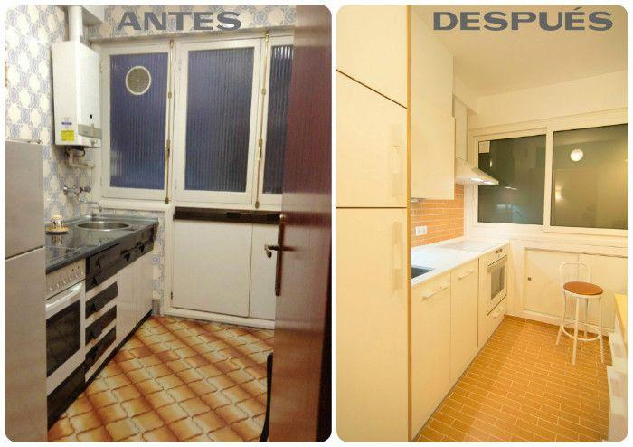 Reforma lowcost de una cocina en www.bricoydeco.com | Kitchen ...