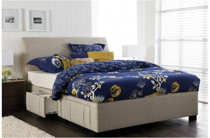 Jett Queen Bed With 4 Drawer Storage