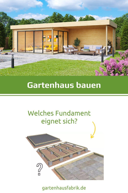 Das Richtige Fundament Fur S Gartenhaus 5 Varianten Im Vergleich In 2021 Gartenhaus Mit Terrasse Gartenhaus Gartenhaus Selber Bauen