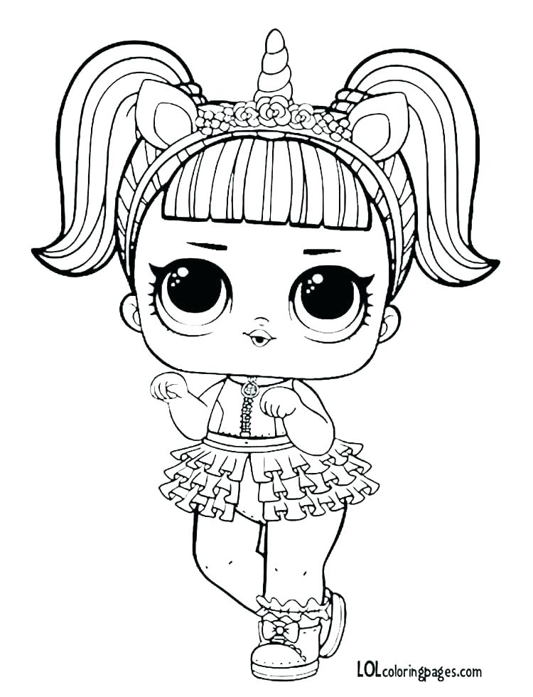 Lol Dolls Coloring Pages Google Search Unicorn Coloring Pages Baby Coloring Pages Cat Coloring Page
