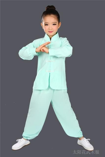 Children Wushu Clothing Girl Boy Chinese Traditional Kung Fu