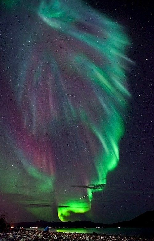 Northern lights - I will see the Aurora Borealis one day. :)