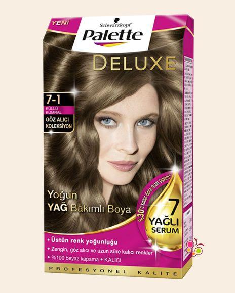 Palette Set Sac Boyasi 7 1 Kullu Kumral Rengarenk Sac Kumral