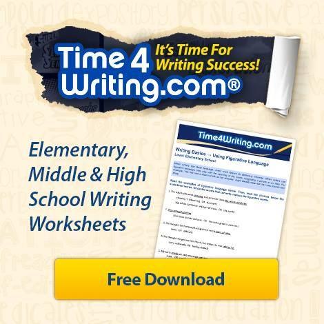 Free punctuation worksheets! #Time4Writing #writingworksheets